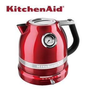 【KitchenAid】溫控智慧電熱水壺蜜蘋紅