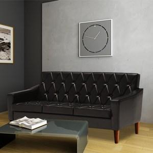 H&D Classic摩登三人沙發-黑色