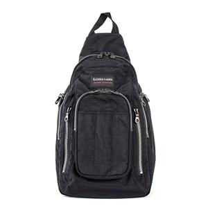 YESON - 超大容量流行側背包-MG-7216-黑黑