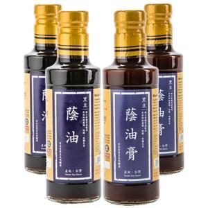 (組)在地純釀造-黑豆蔭油300ml 2入+黑豆蔭油膏300ml 2入