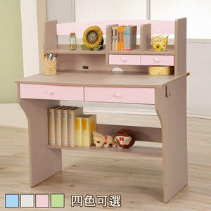 《C&B》天才學童系列兒童書桌(粉紅色)粉紅