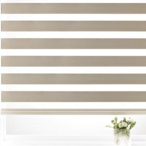 韓國優質可調光遮光捲簾105x185cm 米