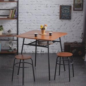一桌二凳【AccessCo】工業風復古桌凳組合