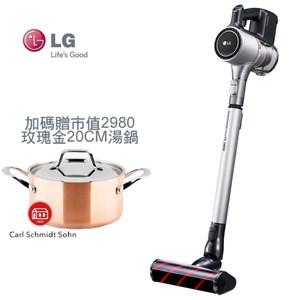 LG 樂金 CordZero™ A9+ A9PBED2X 加碼贈湯鍋