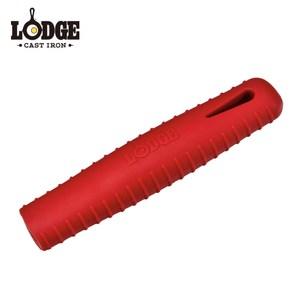 【美國Lodge】碳鋼鍋矽膠隔熱手柄(紅)
