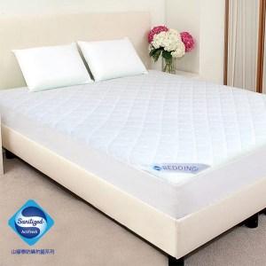 GALATEA 山寧泰防蟎抗菌系列雙人床包式保潔墊