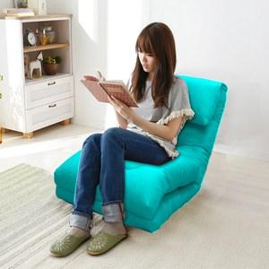 KOTAS 日系多功能和室椅/沙發床-藍色