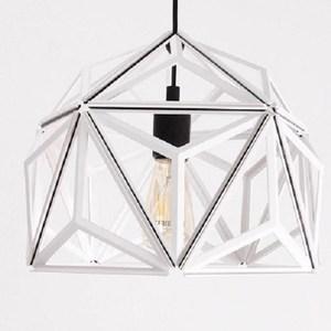 QUALY|三角幾何-燈罩(鏤空白)