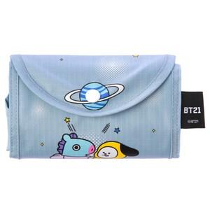 BT21購物袋-粉藍