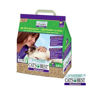 【CAT`S BEST】凱優凝結木屑砂-紫標10L*4包組(G142A03-1)