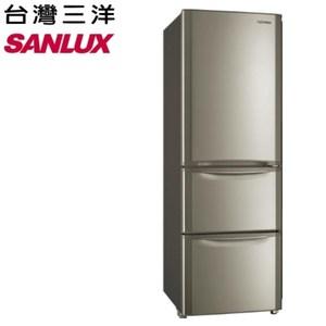 【台灣三洋SANLUX】380公升三門變頻冰箱 SR-B380CVF