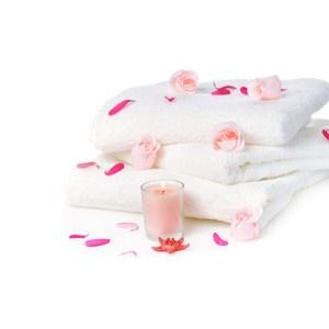 【花季】典雅風情-純白五星飯店級厚織大浴巾x4件組(133x68cm)