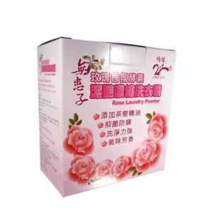 【綺緣 無患子】玫瑰香氛酵素濃縮洗衣霸(14+4件組)
