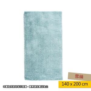 HOLA 雪綸防蟎抗菌地毯 140x200cm 綠色