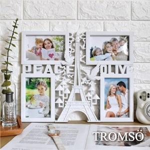 TROMSO巴黎鐵塔和平鴿4框組