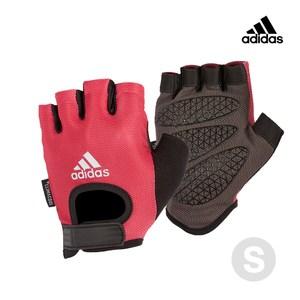 Adidas Training 女用彈性半指手套(綻放粉) S