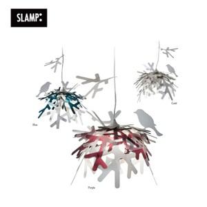 【SLAMP】LUI 吊燈 藍/金/紫金色