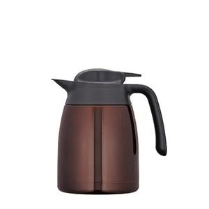 【膳魔師】1000ml不銹鋼真空保溫壺 咖啡色 THV-1000-CBW