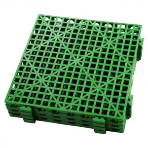 PE TD拼裝防滑板/綠 30x30 4入