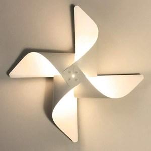 YPHOME 風車造型壁燈(白色) Y881841H白色881841