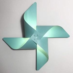 YPHOME 風車造型壁燈(藍色) Y881844H