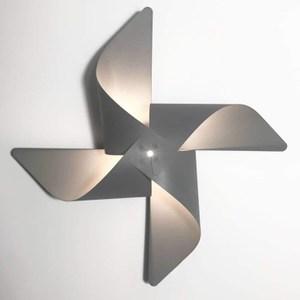 YPHOME 風車造型壁燈(灰色) Y881840H