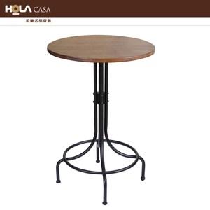 HOLA CASA 工業風木質吧檯桌
