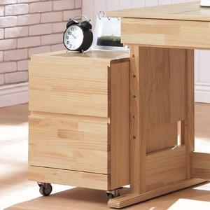 [特價]吉米全實木活動櫃
