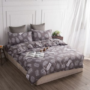 【BARNITE】羅曼蒂克棉感絨四件式兩用被床包組(雙人)