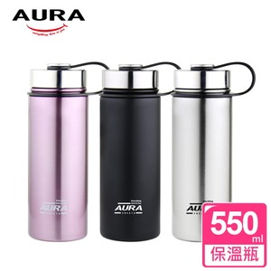 【AURA艾樂】Venture真空保溫太空瓶550ml(質感粉)質感粉