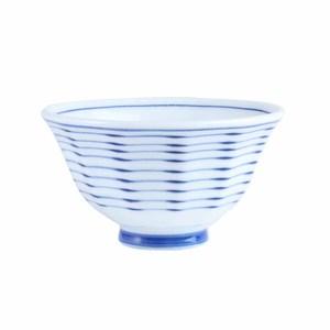 日本细紋飯碗11.5cm 藍