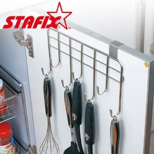【韓國原裝進口STAFIX】全不銹鋼櫥櫃門板掛架27x4x16.5CM