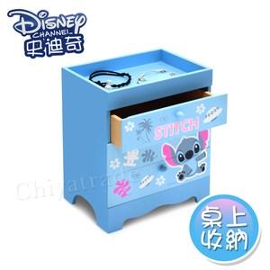 【迪士尼Disney】史迪奇 桌上三層收納盒 抽屜盒 桌上收納