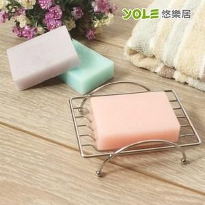 【YOLE悠樂居】簡約方形肥皂架(2入) #1425039