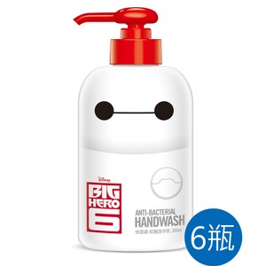 【快潔適】 抗菌洗手乳 防疫組 300ml X6瓶-大英雄天團