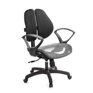 GXG 低雙背網座 電腦椅 (D字扶手)  TW-2803 E4訂購後備註顏色