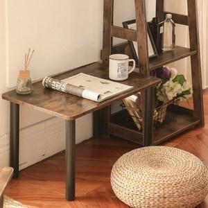 樂嫚妮 和室茶几邊矮桌-仿木 寬-60cm仿木日式矮桌-小
