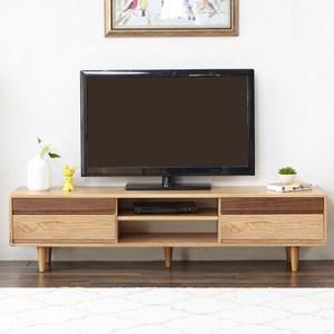 原木日式FAS級白橡木實木1.8M電視櫃W0602-雙色