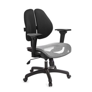 GXG 短背網座 雙背椅 (3D升降扶手)  TW-2801E9訂購後備註顏色