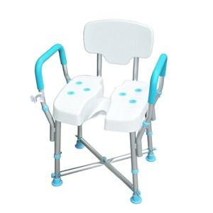 [特價]MedGear免工具扶手洗臀椅附蓮蓬頭掛座