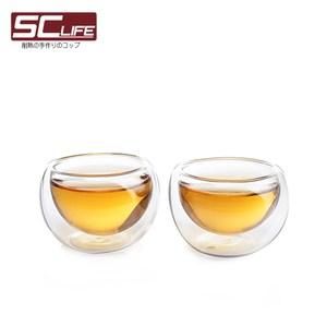 SC life 雙層玻璃品茗杯(十入組)
