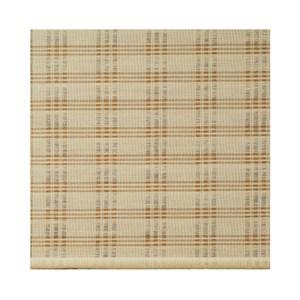 格紋麻編捲簾-米90x165cm