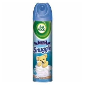 Snuggle美國熊寶貝空氣芳香劑(8oz)-清新亞麻*6
