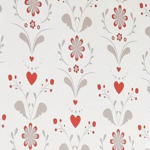 愛心花朵遮光捲簾 135x180cm