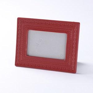 齊理安陶瓷相框 紅 4X6