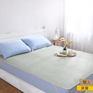 HOLA 蘭斯亞藤抗菌防蟎雙人床蓆150x186