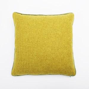 HOLA 海迪緹花抱枕 45x45cm 紋理綠