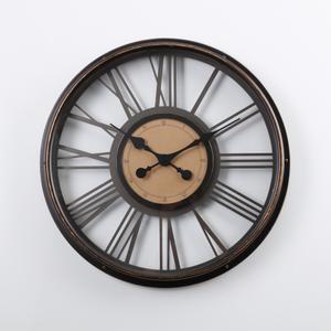 HOLA home 懷特羅馬數字鐵製掛鐘