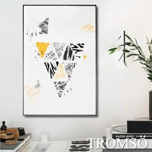 TROMSO北歐生活版畫有框畫-風潮三角