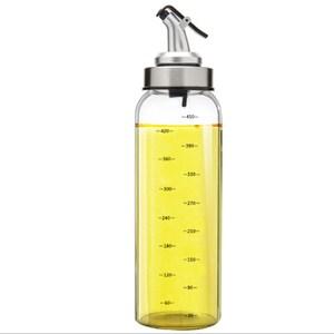 PUSH!廚房用品玻璃調味油瓶大號醬油瓶調料瓶D171
